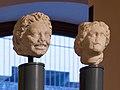 Museo di Santa Giulia satiro e testa femminile romana Brescia.jpg