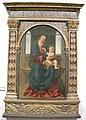 Museo regionale di messina, girolamo alibrandi, madonna in trono col bambino.JPG