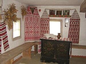Реконструкція традиційного вбранства української хати 916b988109db0