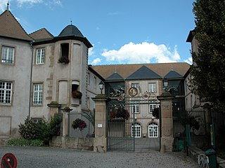 former castle and weapons factory now serving as a museum and cultural centre, Mutzig, France