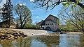 Myon,le moulin et son barrage sur le Lison.jpg