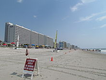 View Of Hotels In Myrtle Beach