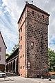 Nürnberg, Stadtbefestigung, Mauerturm Grünes B 20170616 002.jpg