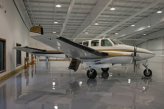 SyberJet Aircraft - An Excalibur 800 on display in an aircraft museum in the USA