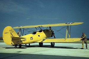 Naval Aircraft Factory N3N - US Marine Corps N3N-3, 1942.