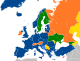 NATO affiliations in Europe.svg