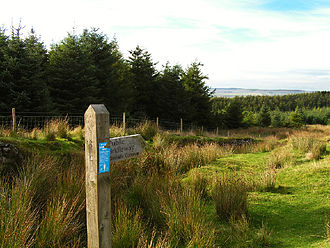 Rights of way in England and Wales - Bridleway fingerpost