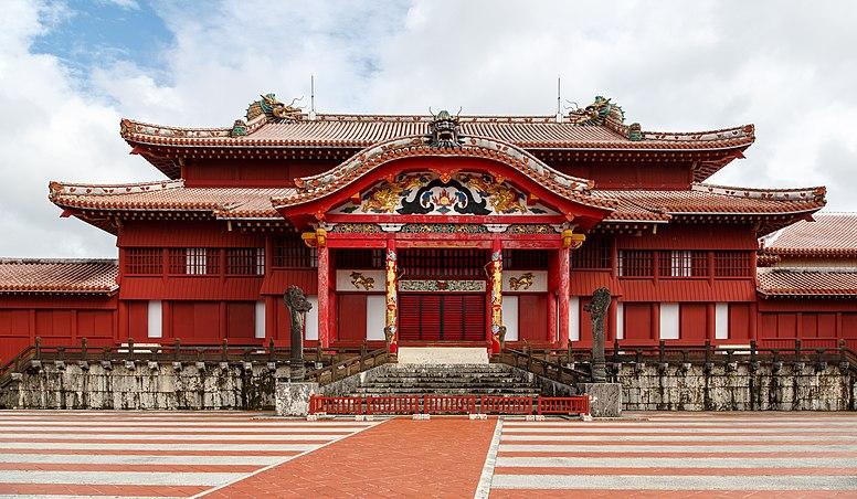 Naha Okinawa Japan Shuri-Castle-01