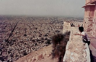 Nahargarh Fort - Jaipur city from Nahargarh Fort