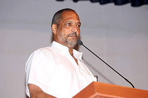 Filmfare Award for Best Performance in a Negative Role - Image: Nana Patekar snapped at the press meet for movie on Baba Amte 06