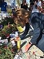 Nancy Pelosi at the tribute of Las Vegas shooting (2).jpg