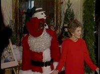 File:Nancy Reagan and Larry Hagman as Santa Claus for the White House Christmas Tour on December 9, 1985.webm