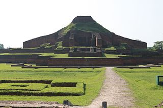 The Paharpur ruins, a UNESCO World Heritage Site