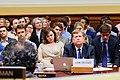 Natalia Veselnitskaya behind Michael McFaul at House Foreign Affairs Committee hearing.jpg