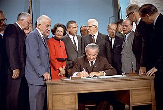 National Wild and Scenic Rivers System - President Lyndon B. Johnson signs the National Wild and Scenic Rivers Act into law.