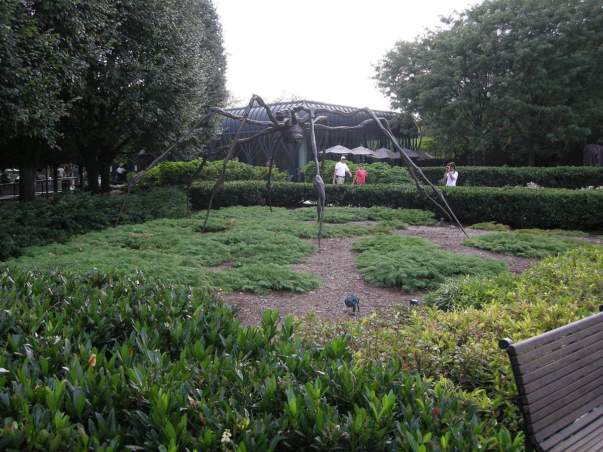 national gallery of art sculpture garden spider bourgeois wikipedia