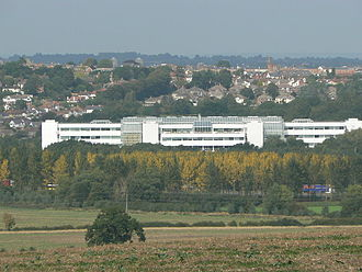Nationwide Building Society - The society's head office in Swindon, Wiltshire