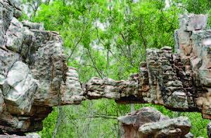 Tirumala - Natural Arch in Tirumala, Andhra Pradesh, India