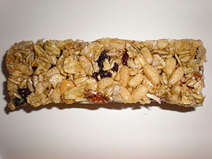 A Nature Valley Chewy Trail Mix Bar, fruit & n...