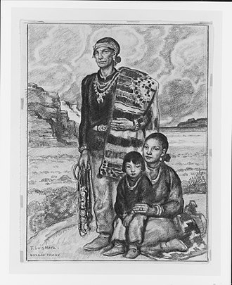 Indigenous peoples of the North American Southwest - Navajo family