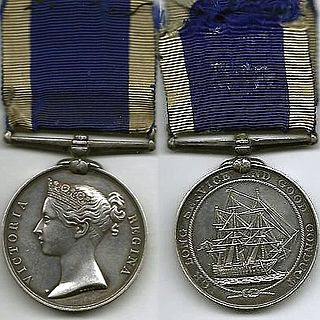 Naval Long Service and Good Conduct Medal (1848)