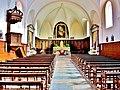 Nef de l'église saint Laurent. Eternoz.jpg