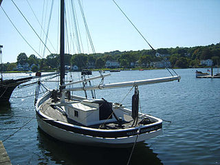 <i>Nellie</i> (sloop) Historic oyster boat in Connecticut, United States