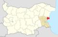 Nesebar Municipality Within Bulgaria.png