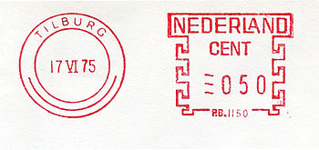 Netherlands stamp type CA19.jpg