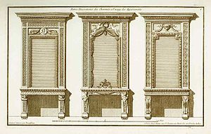 Jean-François de Neufforge - Image: Neufforge Fireplace decorations for apartments