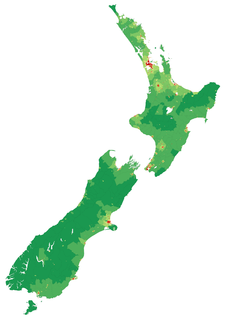 Urban areas of New Zealand human settlement in New Zealand