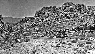 Peloncillo Mountains (Hidalgo County) - Image: New Mexico 71 years ago today