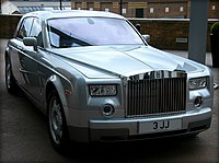 New Rolls Royce Phantom V12 Limousine, the highest caliber in automobile state of the art, passion for quality and speed! Enjoy! ) (4595108464).jpg