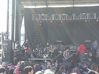 New Years Day (band) - New Years Day performing in 2016
