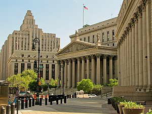 English: New York City - Supreme Court Deutsch...