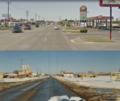 Newcastle Oklahoma 2-lane to 4-lane.png