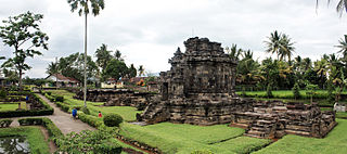 Ngawen Buddhist temple in Indonesia