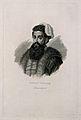Niccolo Tartaglia. Line engraving by A. Locatelli. Wellcome V0005733.jpg