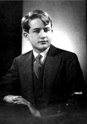 Nicolás Gómez Dávila - Gómez Dávila in 1930, aged 17.
