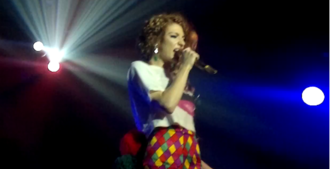 Nicola Roberts - Roberts performing at G-A-Y in support of Cinderella's Eyes in 2011.
