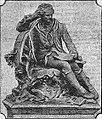 Nicolas-Joseph Cugnot, monument à Void (Lorraine) en 1912 (du au meusien Fosse, sur fonds anglais).jpg