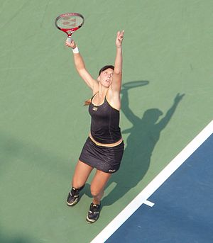 Nicole Vaidišová - Vaidišová at the 2007 US Open