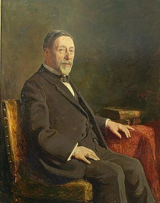 Jacob Nienhuys - Painting by Willem Maris (1872–1929) of Jacob Nienhuys