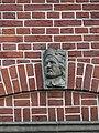 Nijmegen - Hoofd gemaakt door Egidius Everaerts op de gevel van Huis Heyendaal 06.jpg