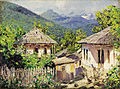 Nikolay Dubovskoy Village Scene 1911.jpg