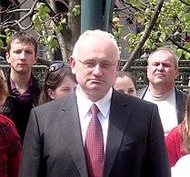 Nikolay Ladutko - on Jean Henri Dunant bust opening in Minsk city - 7 May 2010 AD - b.JPG