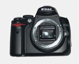 Nikon D5000 - Nikon D5000 body