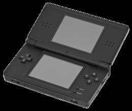 """260px Nintendo DS Lite Black Open - La saga del """"Professor Layton"""": bellissimi ricordi che si intrecciano con il presente"""