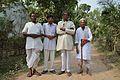 Niranjan Mandal - Aloke Halder - Shyamsundar Halder - Girish Karmakar - Simurali 2014-03-09 9639.JPG