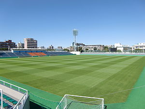 Ajinomoto Field Nishigaoka - Image: Nishigaoka Stadium 1